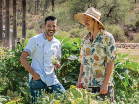 Castle Hot Springs Feeds Arizonan Community with New Farm Fresh Produce Program Starting at $25/week