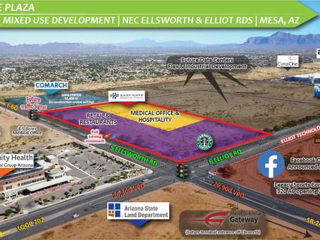East Gate Plaza Poised for Major Impact in Mesa Tech Corridor Area