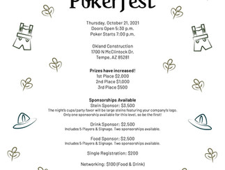 Arizona's ACE Mentor Program of America chapter to hold 'Pokerfest' on October 21