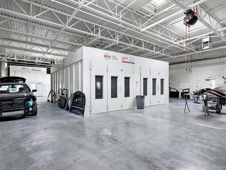 Agate Construction Completes Chapman Collision Service Center