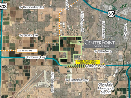 1,400-acre CenterPoint Logistics Park in El Mirage Lands Cives Steel Corporation