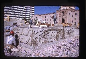 Concrete Fountain Renews Tucson's Historic Plaza