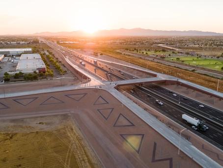 Sunland's First Bridge Spans I-10 in Avondale