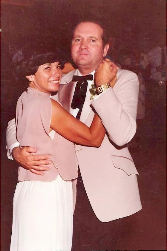Mom and Dad at Connie's Wedding 1981