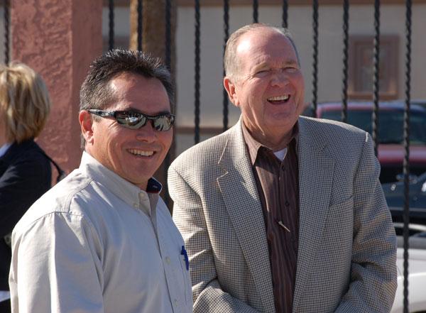 Bill Heeter and David Arbo