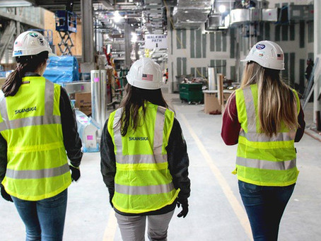 Personal Protective Equipment for Women Created by Skanska