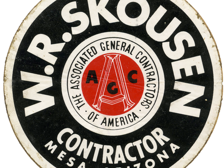 Digging Through the Archives:      W.R. Skousen and His Blue-Ribbon Blacktop Crews