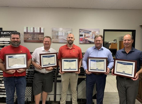 Eight TraVek Team Members Become NARI Certified Kitchen and Bath Remodelers