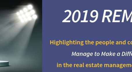 IREM to Recognize Real Estate Management Excellence with 2019 REME Awards: Submissions accepted thro