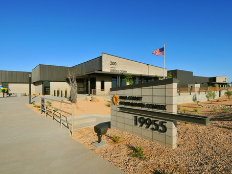 JOHNSON CARLIER COMPLETES CONSTRUCTION ON PINAL COUNTY COMPLEX