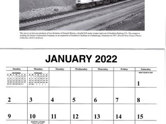 The Historical Construction Equipment Association Releases Its 2022 Wall Calendar