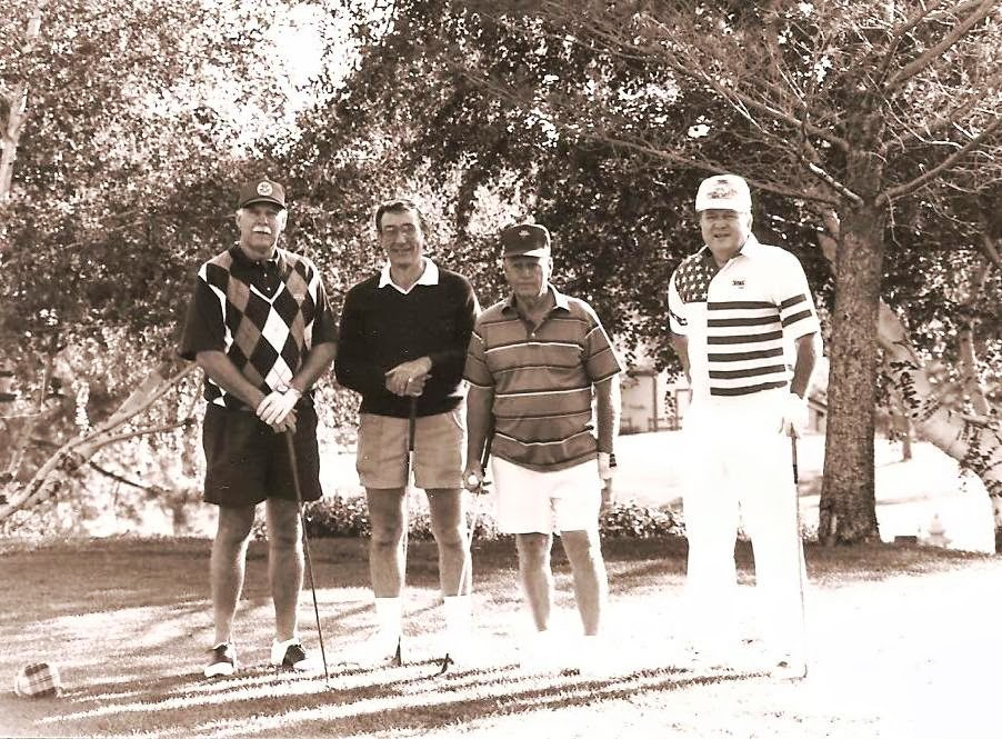 Dad and a golf tournament in his Tanner Companies uniform
