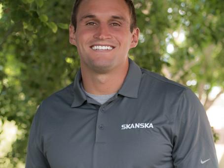 Skanska Hires Joe Cannon as Assistant Project Manager