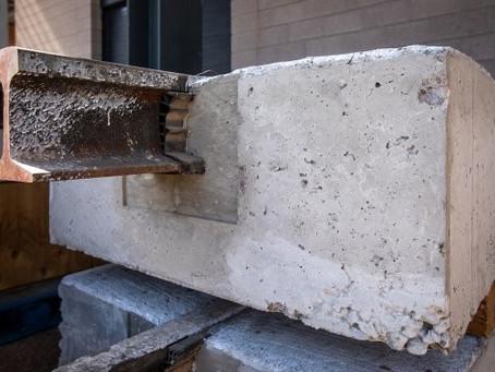 Fiber-reinforced concrete speeds construction, reduces costs