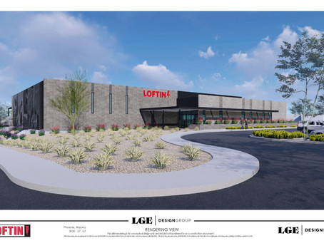 Loftin Equipment Breaks Ground on New 52nd Street and McDowell Headquarters