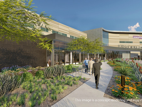 McCarthy Building Companies Completes Major Construction Milestone at HonorHealth Sonoran Medical Ce