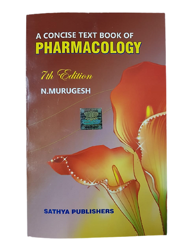 A Concise Text Book Of Pharmacology By N. Murugesh