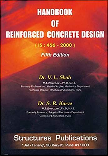 Handbook of Reinforced Concrete Design By Dr. S.R. Karve Dr. V. L. Shah