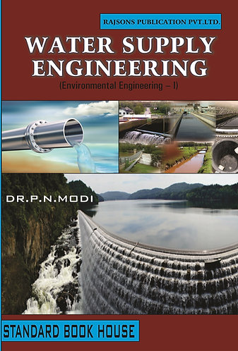 Water Supply Engineering Volume - 1