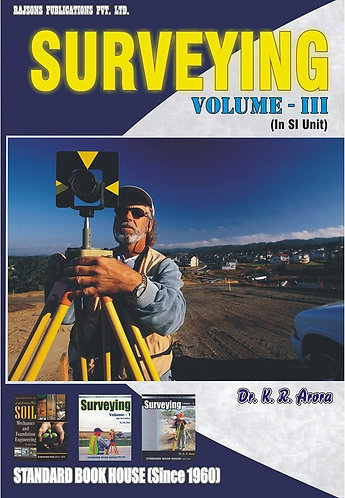 Surveying Vol. III (SI Units) Low price