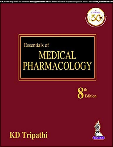 Essentials of Medical Pharmacology by KD Tripathi