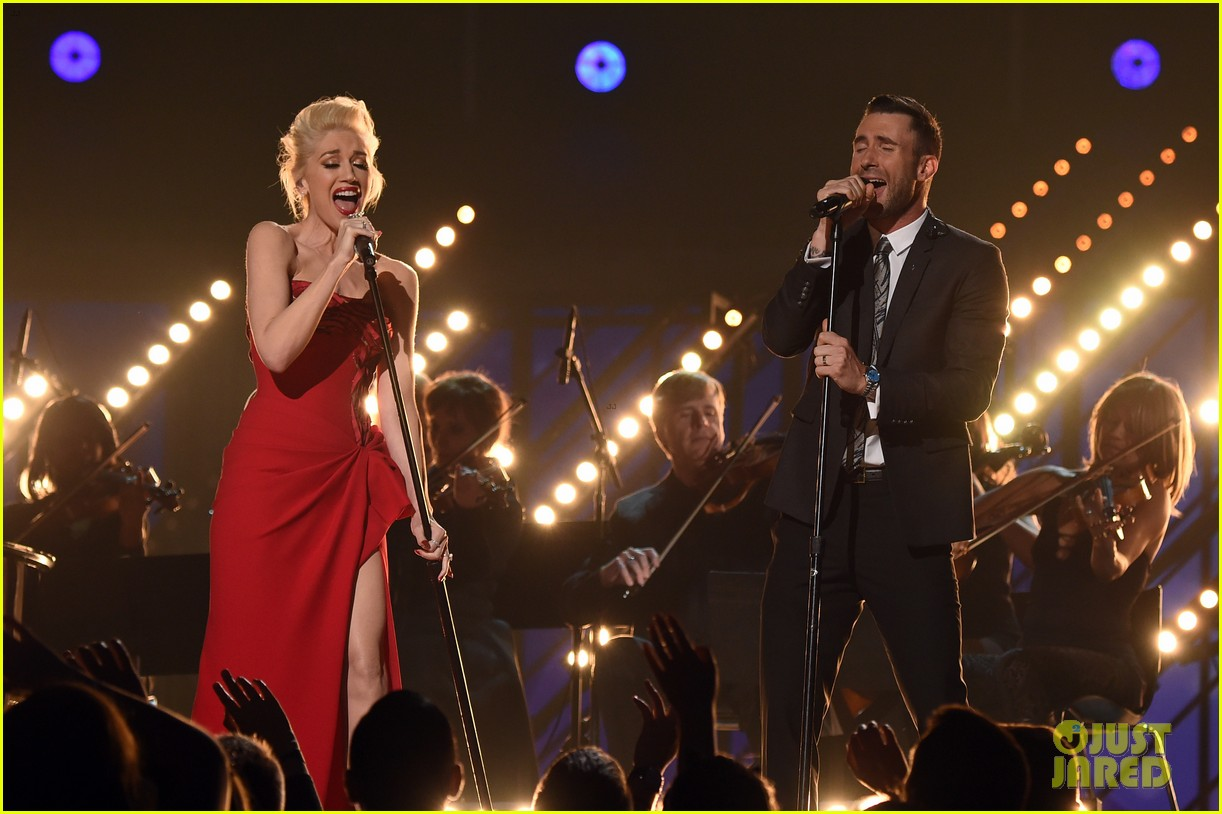 Adam Levine,Gwen Stefani