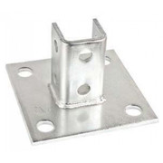 CHANNEL BASE PLATE WITH 4 HOLES