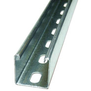 STRUT CHANNEL SLOTTED