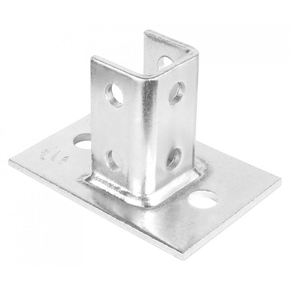 SINGLE CHANNEL BASE PLATE WITH 2 HOLES