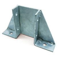 DOUBLE CHANNEL GUSSET BASE PLATE