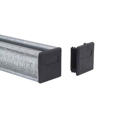 PVC END CAPS FOR CHANNELS