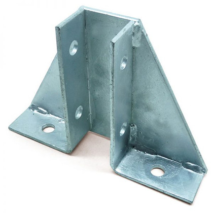 SINGLE CHANNEL GUSSET BASE PLATE