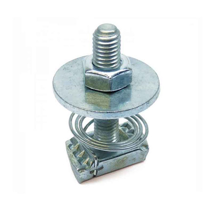 HAMMER HEAD BOLT WITH TOP SPRING