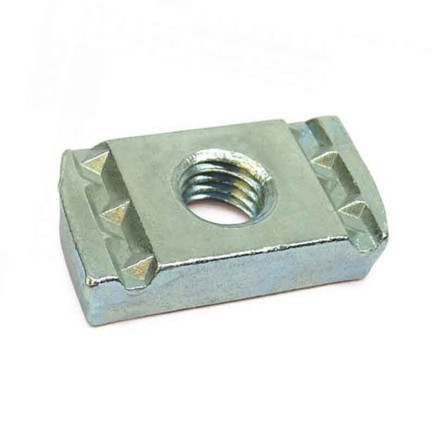 CHANNEL NUT WITHOUT SPRING