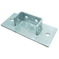 DOUBLE CHANNEL BASE PLATE