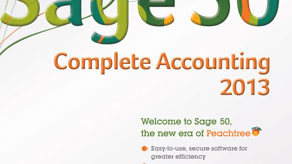 Sage 50 Complete Accounting 2013 5-user