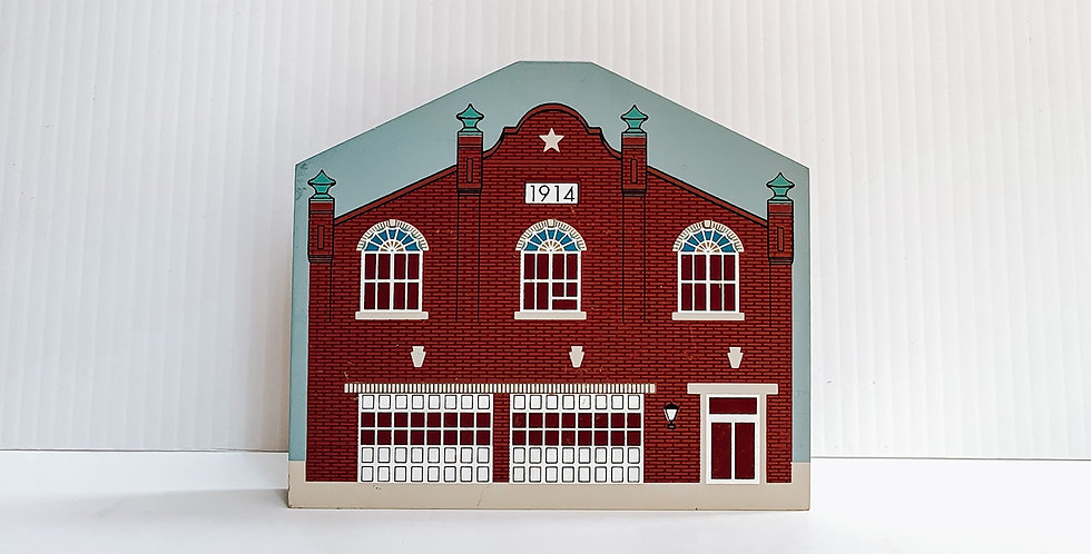 Miniature painted Keystone Fire Company
