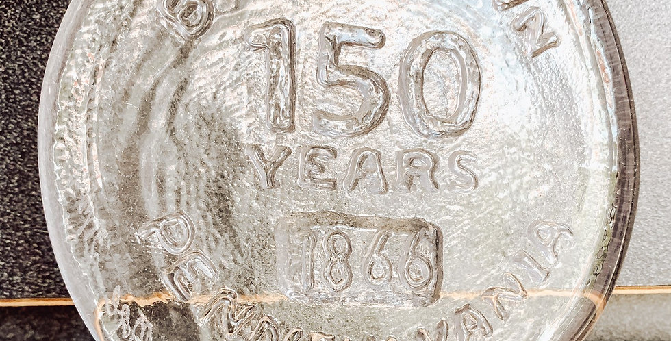 150 AnniversaryGlass Ornament