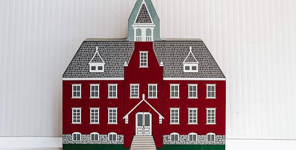 Miniature painted Boyertown church