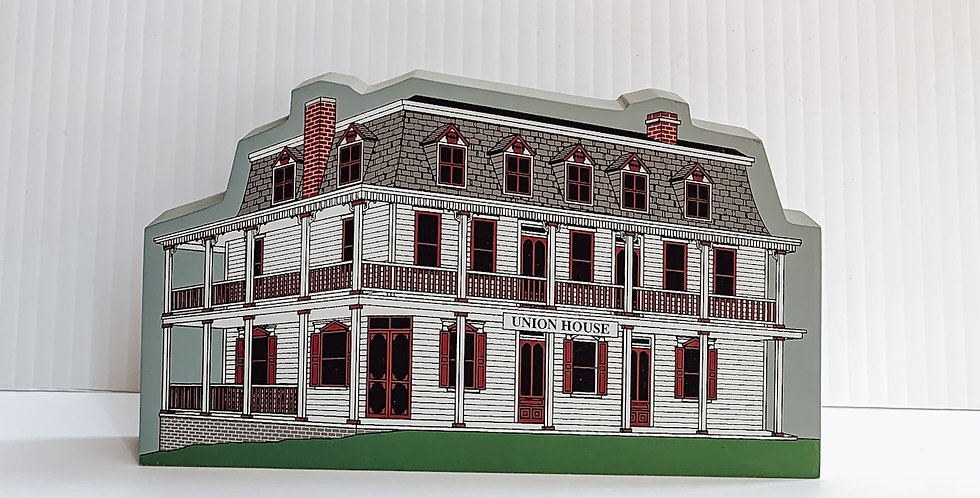 Miniature painted Union House