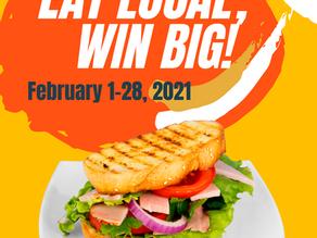 Eat Local, Win Big!!!
