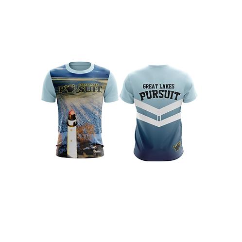 Great Lakes Pursuit Pointe Aux Barques Athletic Short Sleeve Shirt
