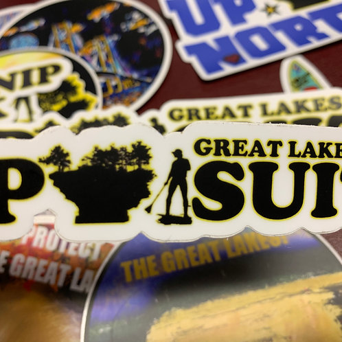 Great Lakes Pursuit Logo Sticker (Small)