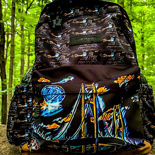 Great Lakes Pursuit Mighty Mac Canvas/Nylon Backpack