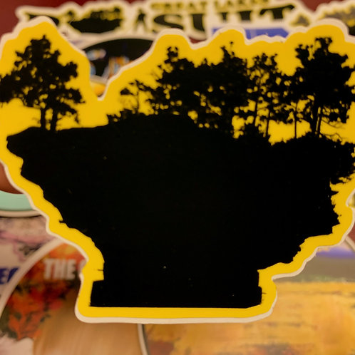 Great Lakes Pursuit Turnip Rock Sticker