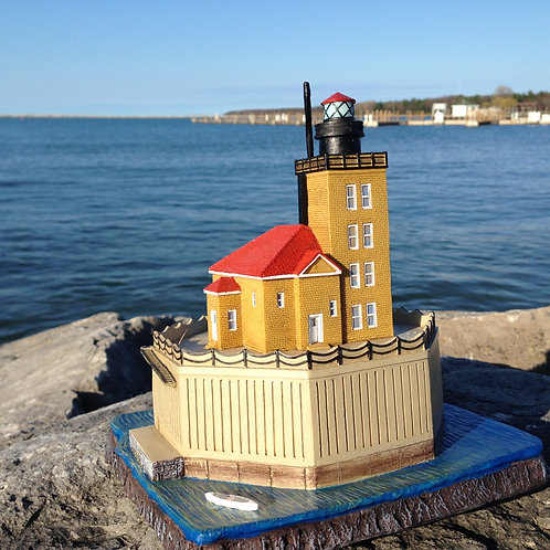 Port Austin Reef Lighthouse Replica Model