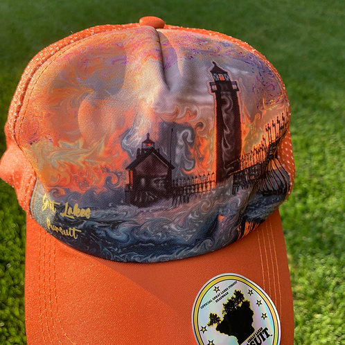 Great Lakes Pursuit Grand Haven Technical Run Hat