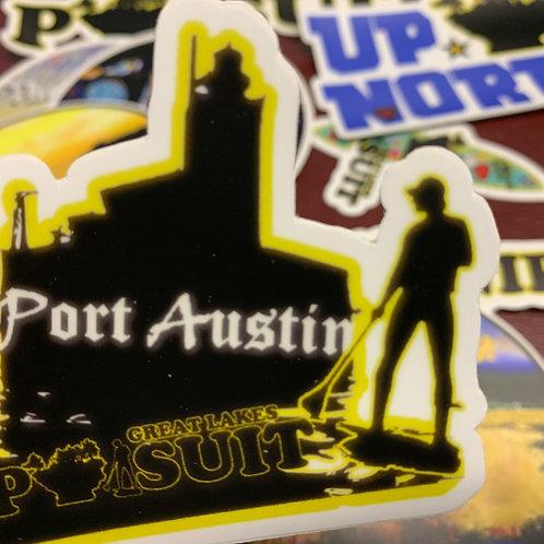 Great Lakes Pursuit Port Austin Lighthouse Sticker