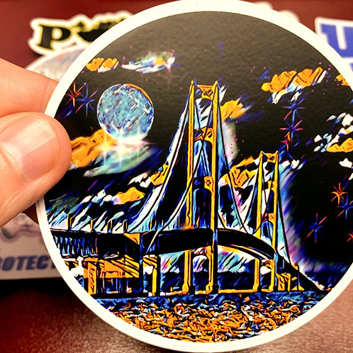 Great Lakes Pursuit Might Mac Sticker
