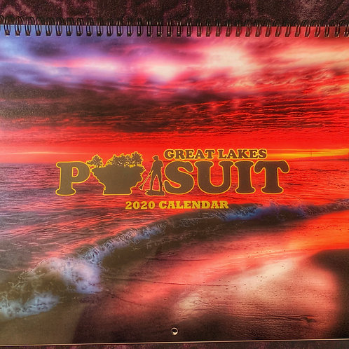 2020 Great Lakes Pursuit Premium Wall Calendar 13 X 10